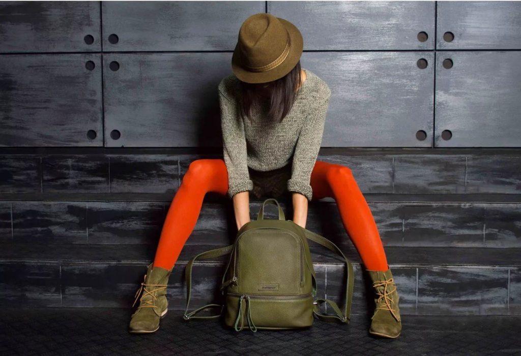 Как выбрать женский кожаный рюкзак